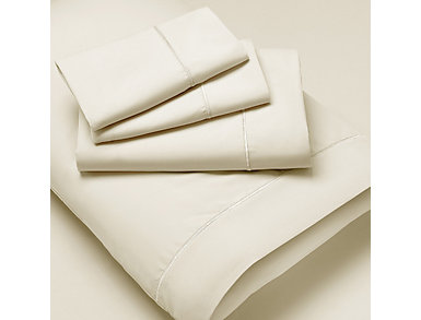 PureCare Premium Microfiber Ivory Full Sheet Set, , large