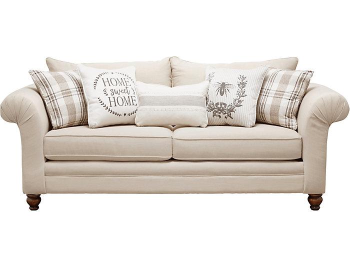 Strange Birch Cottage Sofa Art Van Home Customarchery Wood Chair Design Ideas Customarcherynet