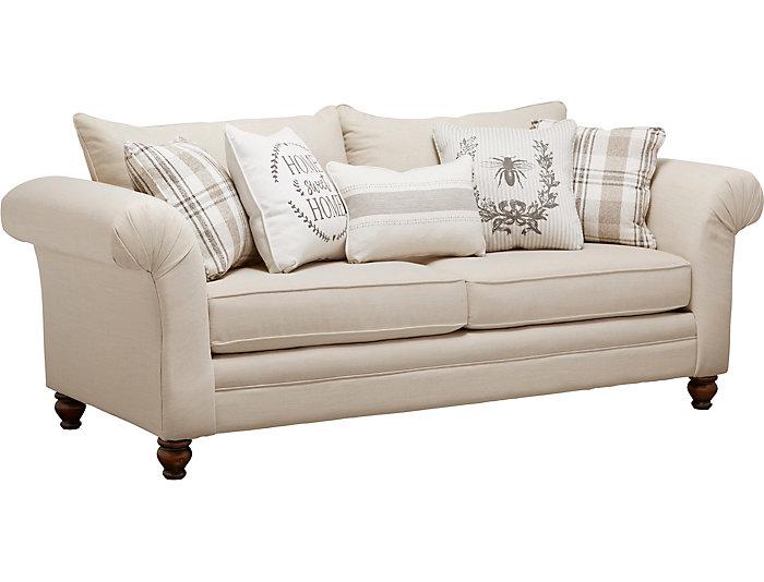 Brilliant Birch Cottage Sofa Art Van Home Customarchery Wood Chair Design Ideas Customarcherynet