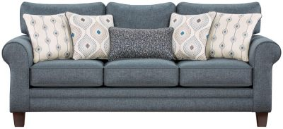 Capri Sofa, Blue, swatch