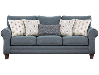 Capri Sofa, Blue, large