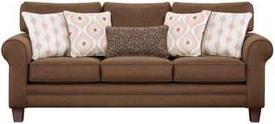 Capri Sofa, Brown, swatch