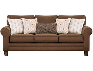 Capri Sofa, Brown, large