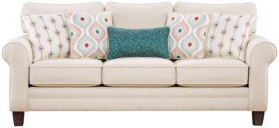Capri Sofa, Straw, swatch