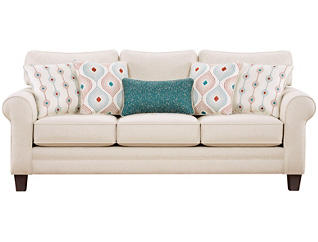 Capri Sofa, Straw, large
