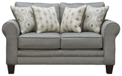 Capri Loveseat, Spa, swatch
