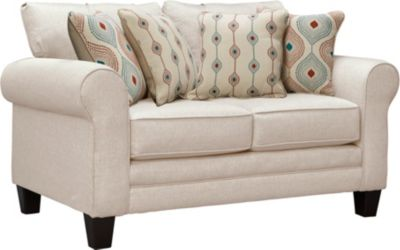 Capri Loveseat, Straw, swatch