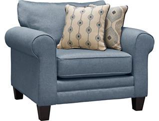 Capri Chair, Blue, large
