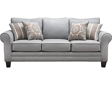 Mist Queen Sleeper Sofa, , large
