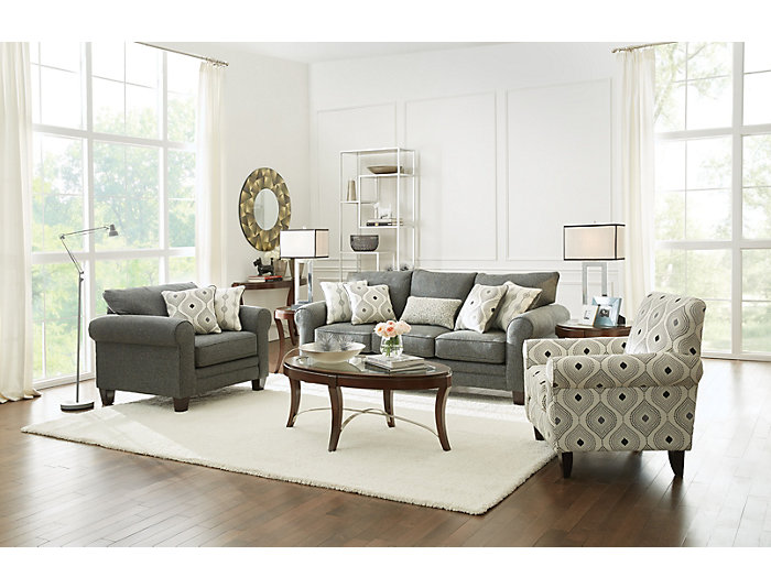 Marvelous Capri Queen Sleeper Sofa Grey Art Van Home Gmtry Best Dining Table And Chair Ideas Images Gmtryco