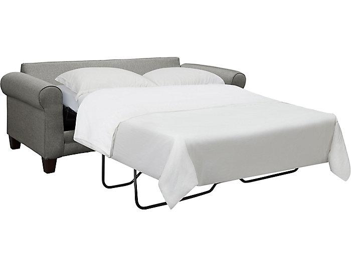 Capri Sleeper, Charcoal, Charcoal, large