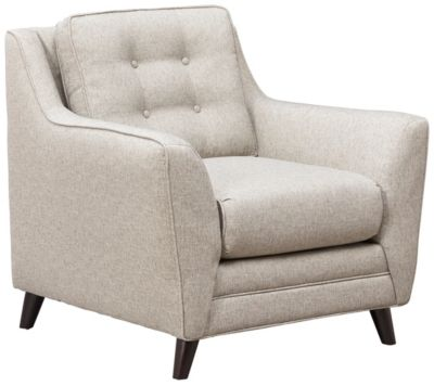 Emery Accent Chair, Cloud, swatch