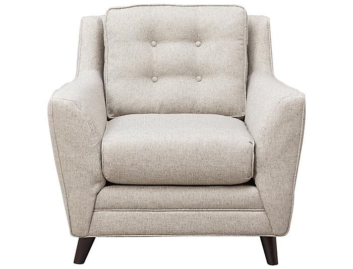 Peachy Emery Cloud Accent Chair Art Van Home Bralicious Painted Fabric Chair Ideas Braliciousco