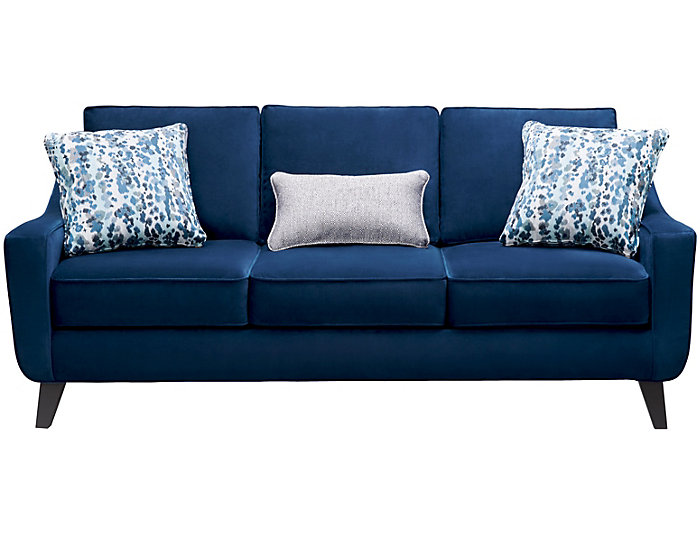 Pierce Sofa, Deep Blue, Deep Blue, large