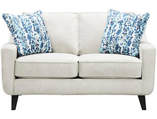Pierce Loveseat, Dove Grey, large
