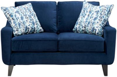 Pierce Loveseat, Deep Blue, swatch