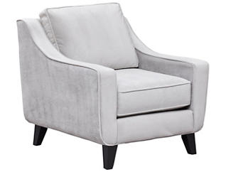 Pierce Chair, Dove Grey, large