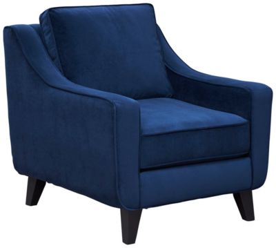 Pierce Chair, Deep Blue, swatch