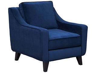 Pierce Chair, Deep Blue, large