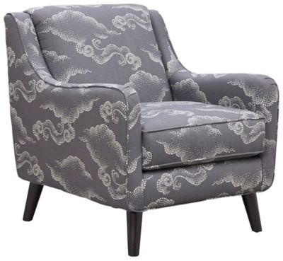 Royce Accent Chair, Charcoal, swatch
