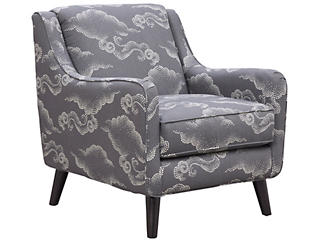 Royce Accent Chair, Charcoal, large