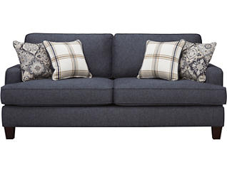 Brighton II Sofa, Navy, , large