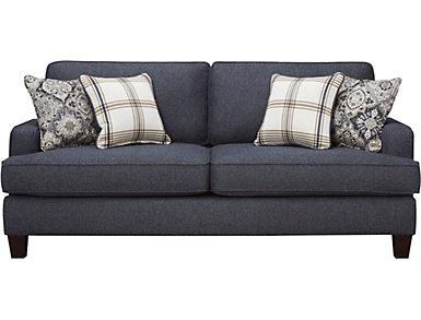Brighton II Sofa, Navy, , large