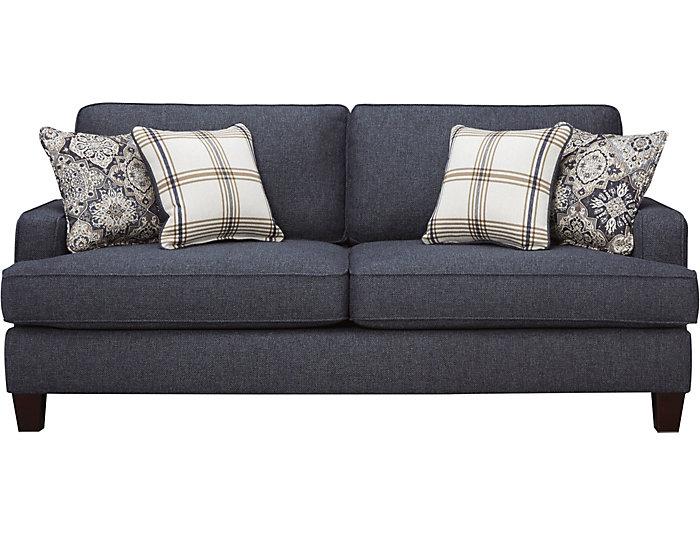 Brighton Ii Navy Sleeper Sofa