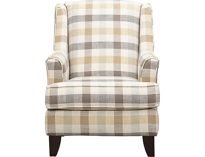 Plaid Wingback Chairs Home Design Ideas