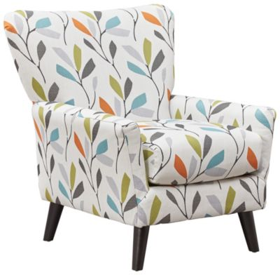 Emery Accent Chair, Cloud, Grey, swatch