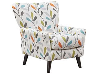 Emery Accent Chair, Grey, Grey, large
