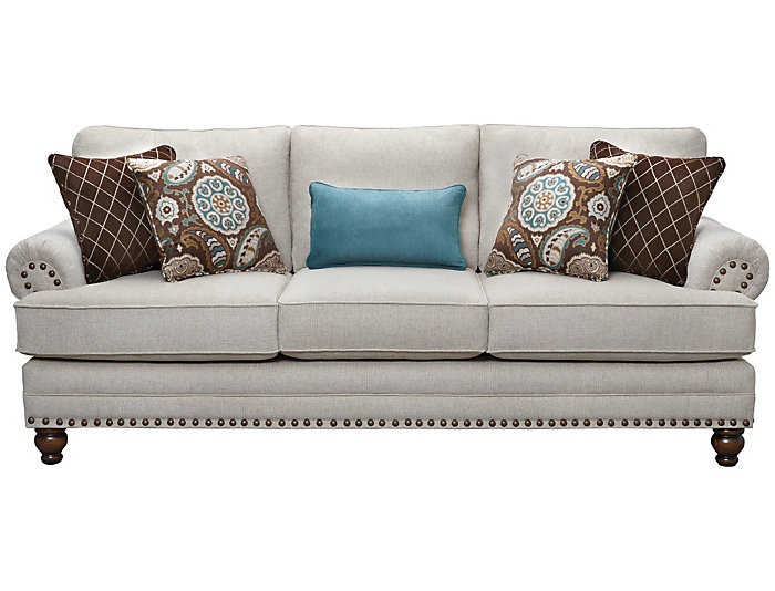 Delicieux ... Anna Sofa, Ivory, , Large ...