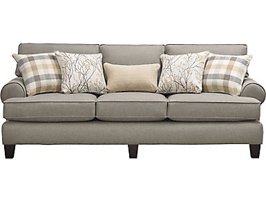 Palmer Grey Sofa, , large