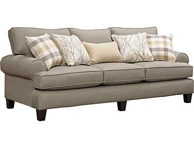 Palmer Grey Sofa, , large