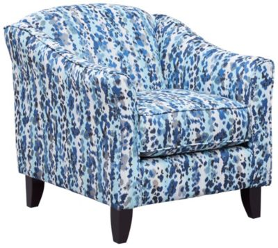 Pierce Chair, Blue/Grey, swatch