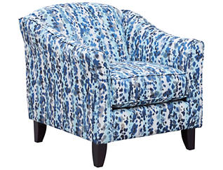 Pierce Accent Chair, Blue/Grey, Blue/Grey, large
