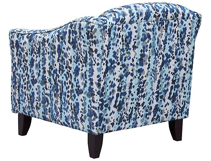 Pierce Accent Chair, Blue/Grey, , Large ...