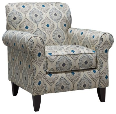 Capri Accent Chair, Blue, swatch