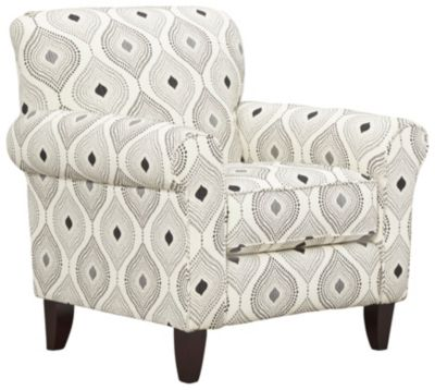 Capri Accent Chair, Charcoal, swatch