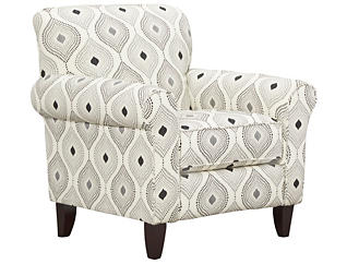 Capri Accent Chair, Charcoal, large