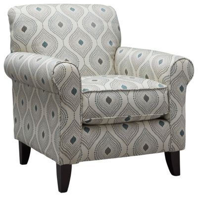 Capri Accent Chair, Spa, swatch