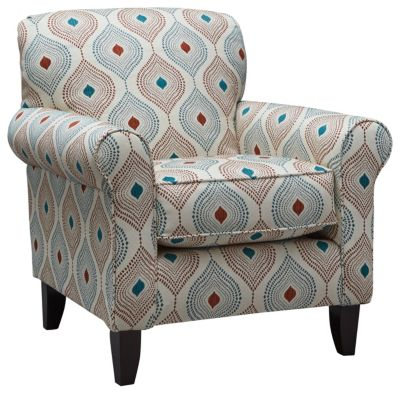 Capri Accent Chair, Straw, swatch