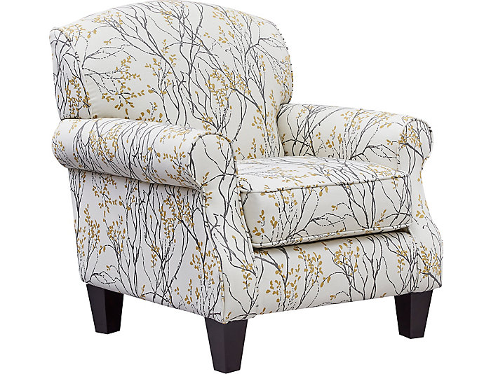 Palmer Accent Chair, Grey