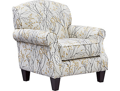 Palmer Accent Chair, Grey, , large
