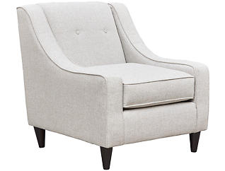 Royce Accent Chair, Light Grey, large