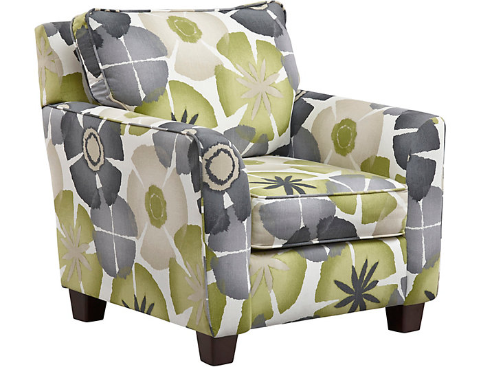 ... Evan Accent Chair, Green, , Large ...
