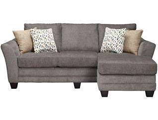 Jordan II Chaise Sofa, Charcoal, , large