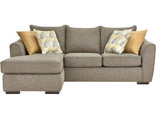 Enjoyable Mackenzie Vi Grey Sofa Bralicious Painted Fabric Chair Ideas Braliciousco
