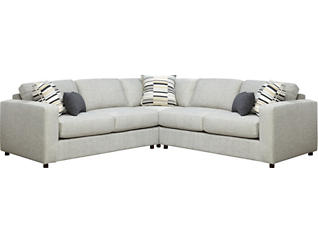 Axis 3 Piece Sectional, , large
