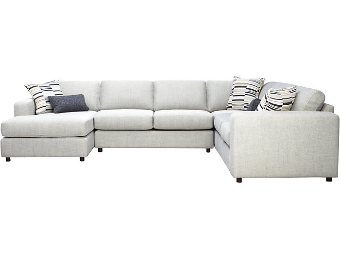 Axis 4 Piece Left Arm Facing Chaise Sectional Art Van Home